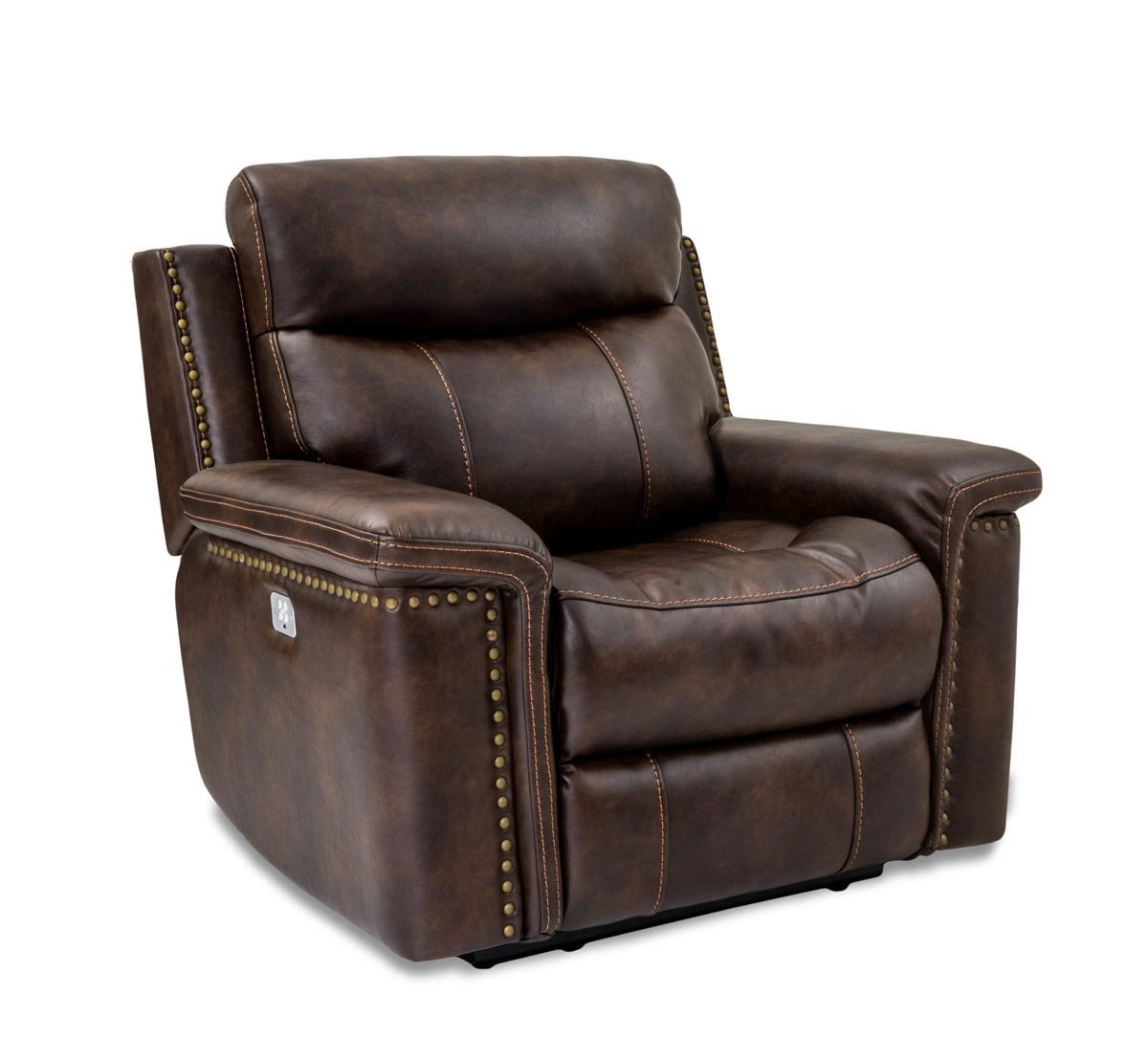 Cheers Sofa Phoenix Leather Pwr Recl w/Pwr Head & Foot - Item Number: XW5258HM L1-1LFEH 3537