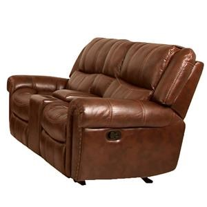 Cheers Sofa Weston Elkridge Console Reclining Loveseat