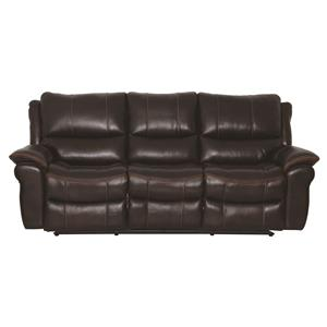 Cheers Sofa Raymore Reclining Leather Sofa (POWER Option)