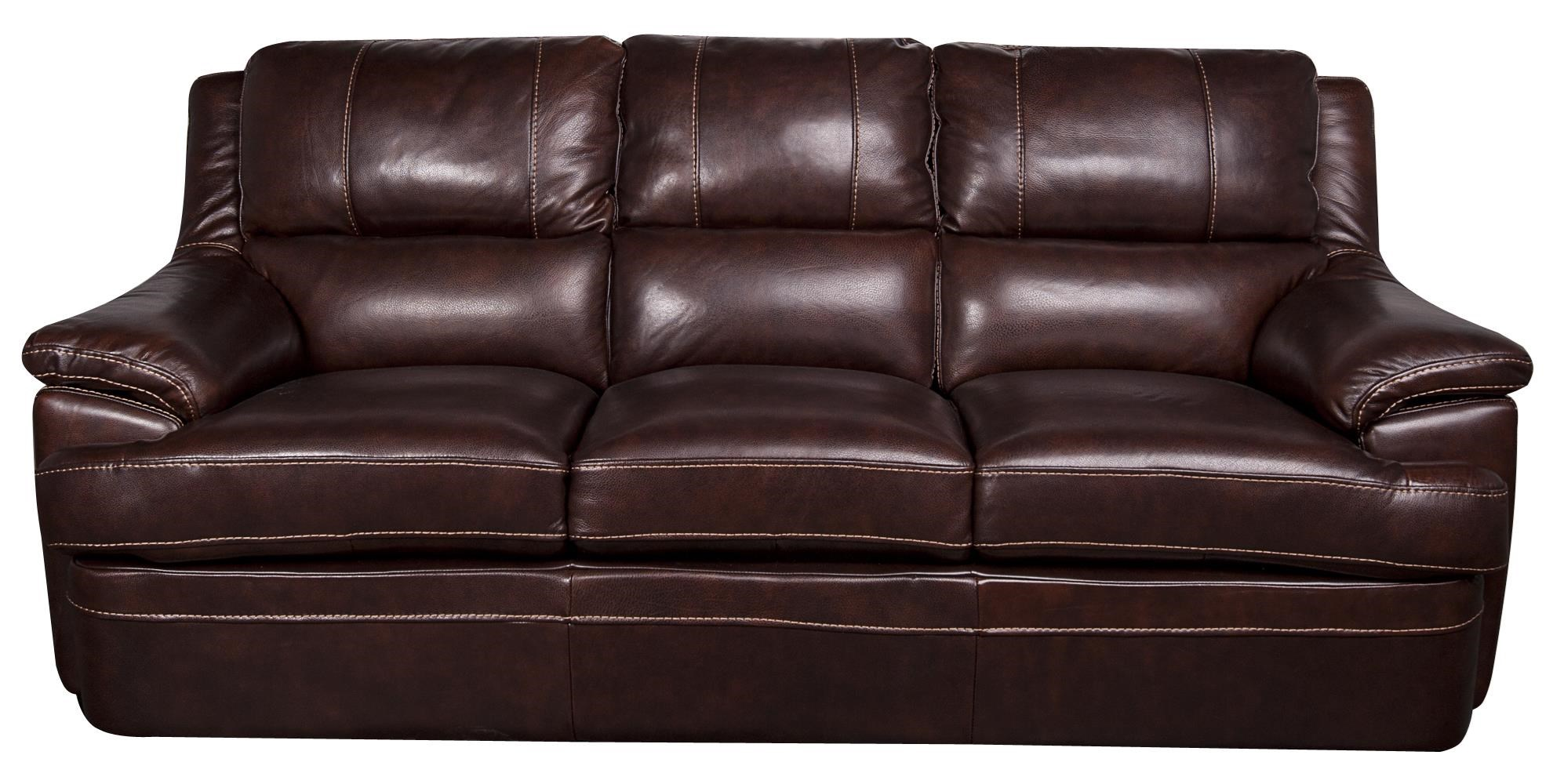 Morris Home Furnishings Zane - Zane Leather-Match* Sofa - Item Number: 225050618