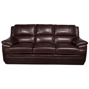Morris Home Furnishings Zane - Zane Leather-Match* Sofa