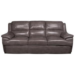 Morris Home Furnishings Zane Zane Leather-Match* Sofa
