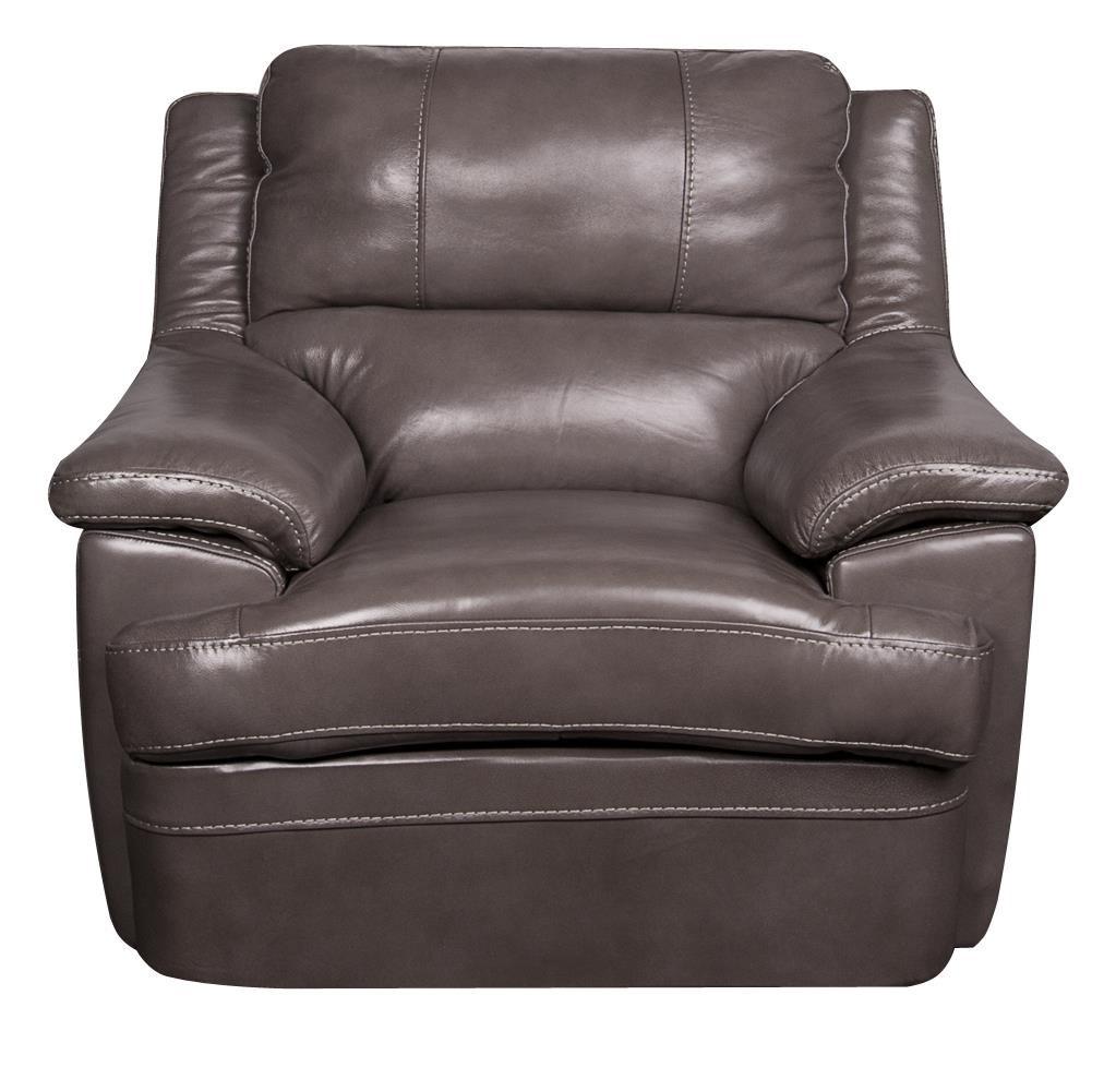 Morris Home Furnishings Zane Zane Leather-Match* Chair - Item Number: 296595699