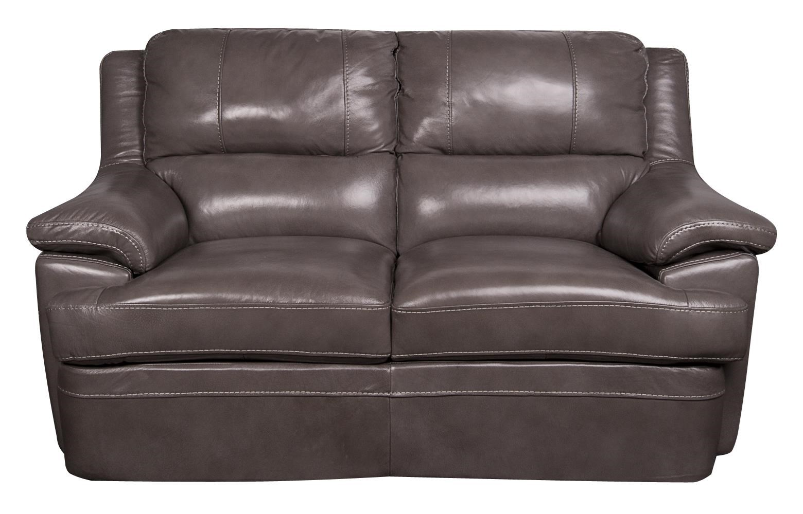 Morris Home Furnishings Zane Zane Leather-Match* Loveseat - Item Number: 435911247