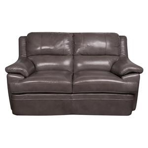 Morris Home Furnishings Zane Zane Leather-Match* Loveseat