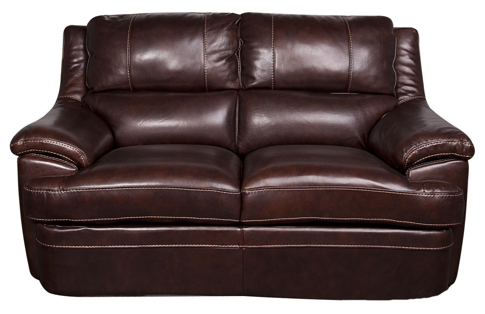 Morris Home Furnishings Zane - Zane Leather-Match* Loveseat - Item Number: 740524957