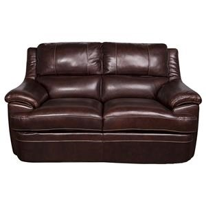 Morris Home Furnishings Zane - Zane Leather-Match* Loveseat