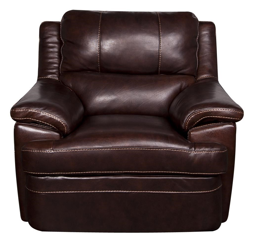 Morris Home Furnishings Zane - Zane Leather-Match* Chair - Item Number: 934188519