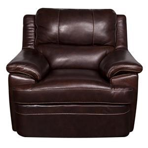 Morris Home Furnishings Zane - Zane Leather-Match* Chair