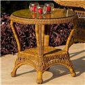 NorthCape International Charleston End Table - Item Number: NC457ET-WL+NC457ET-GL