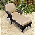 NorthCape International Monaco NC Chaise Lounge - Item Number: NC4063-CL-CP