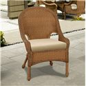 NorthCape International Monaco NC Woven Outdoor Dining Chair with Seat Cushion