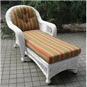 NorthCape International St Lucia Chaise Lounge - Item Number: NC497-CL-WH