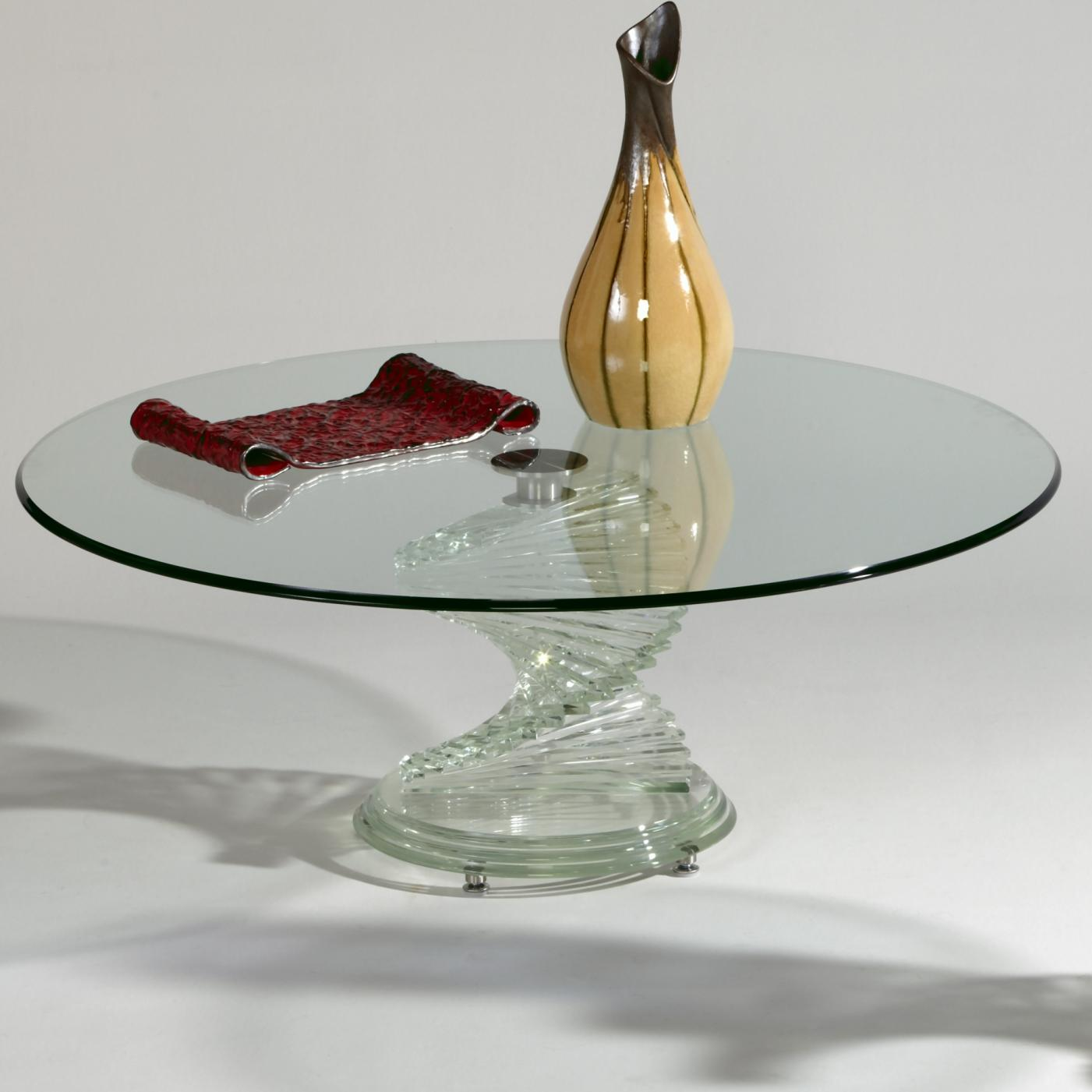7201  Round Cocktail Table by Chintaly Imports at Corner Furniture