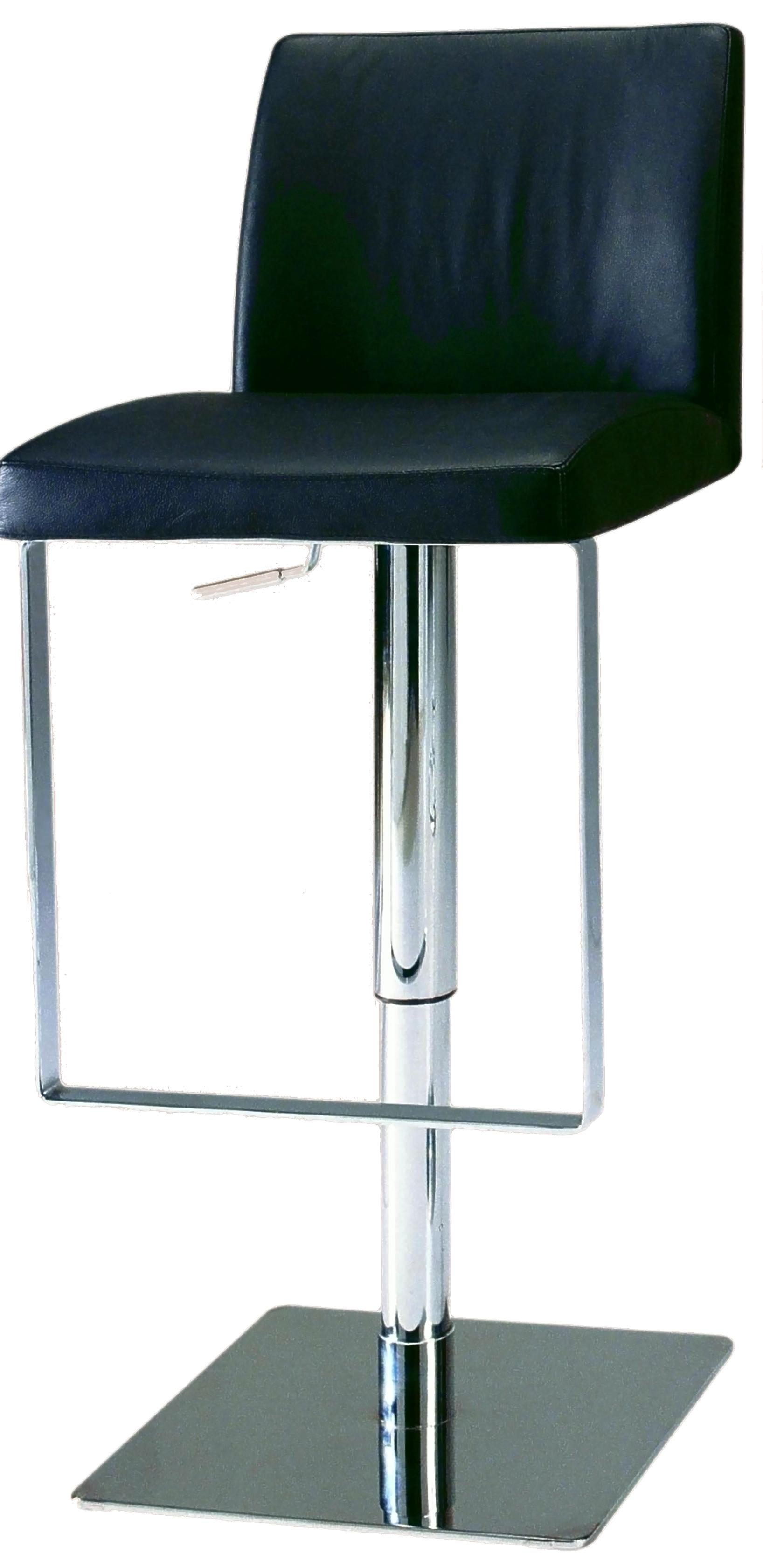 800 Adjustable Height Swivel Stool by Chintaly Imports at Nassau Furniture and Mattress