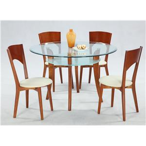 Chintaly Imports Casey 5-Piece Casual Table Set