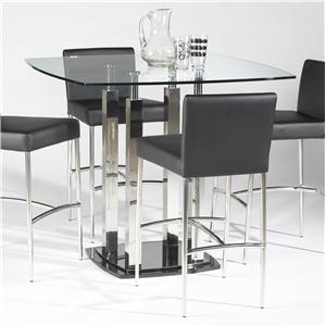 Chintaly Imports Cilla Pub Table