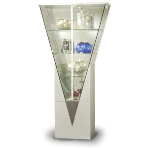 Chintaly Imports Curios Triangle Shaped Curio