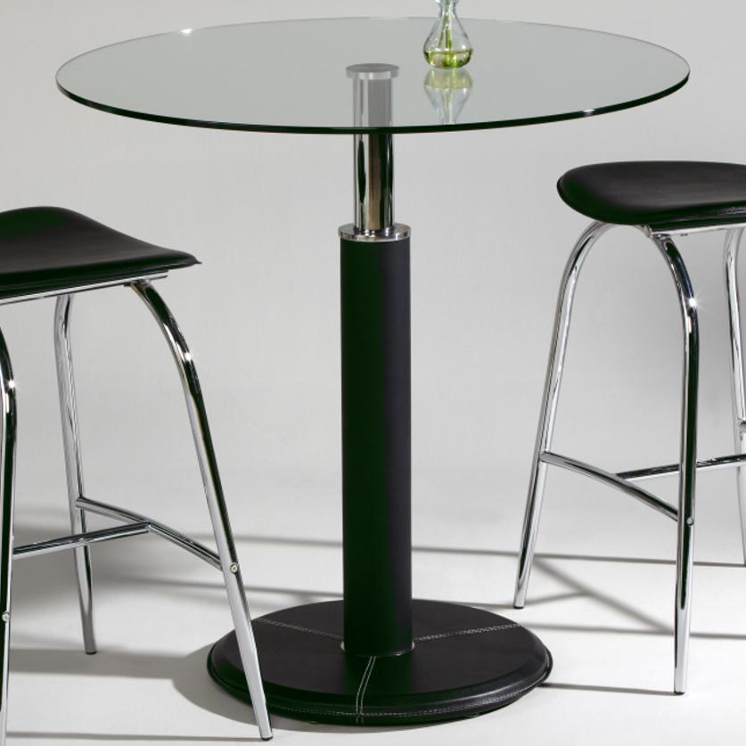 Chintaly Imports Gladys Round Glass Top Pub Table with  : products2Fchintalyimports2Fcolor2Fgladysgladys pub b2Bm2Bt b from www.hudsonsfurniture.com size 837 x 837 jpeg 50kB