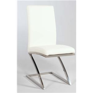 "Chintaly Imports Jade ""Z"" Frame Side Chair"