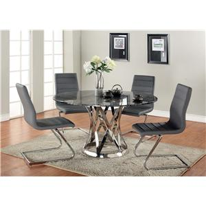 Chintaly Imports Janet Five-Piece Dining Set