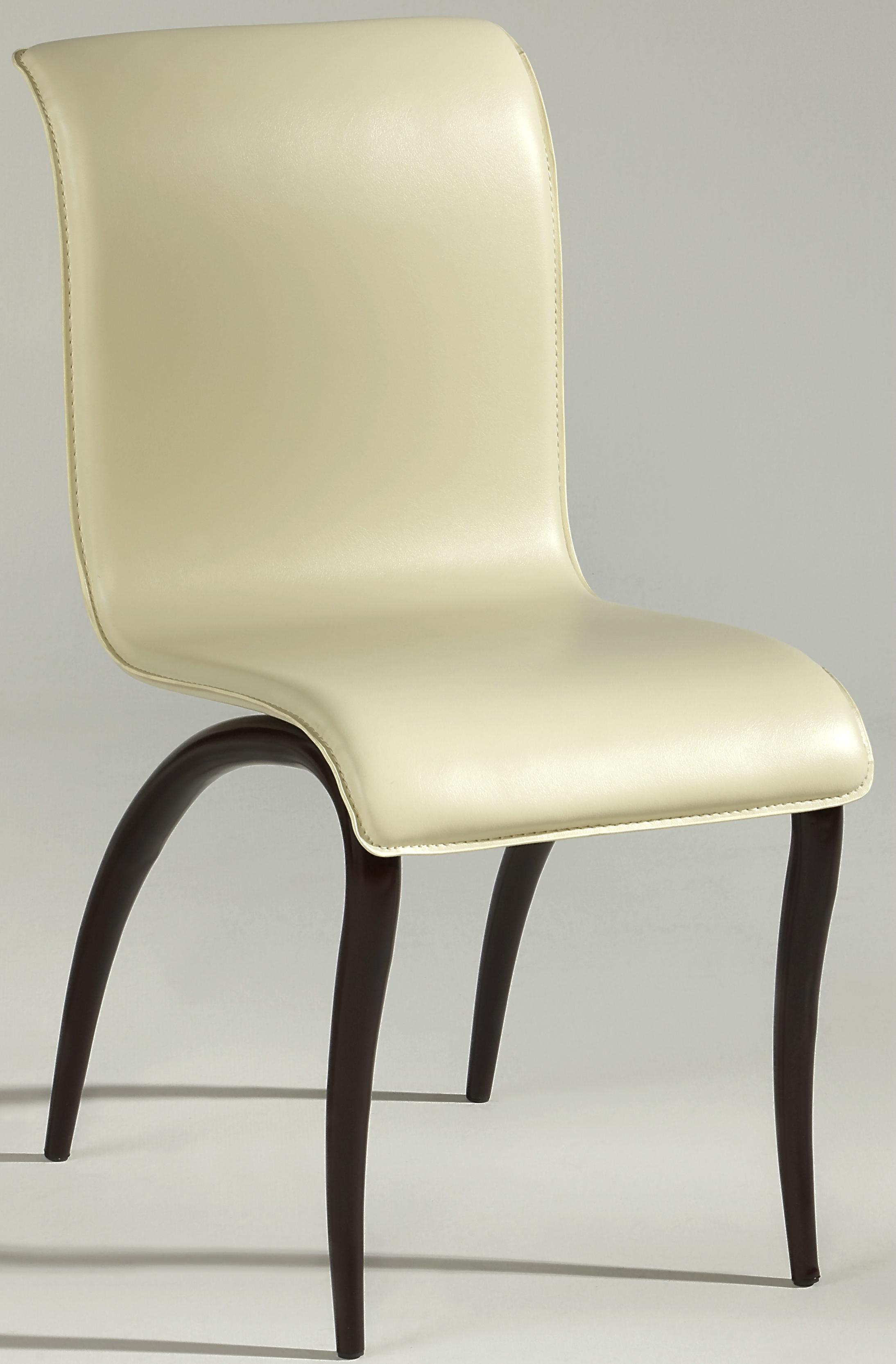Chintaly Imports Judith Dining Side Chair - Item Number: JUDITH-DT-BRW-SC