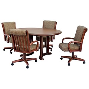 Chromcraft Custom Dining 5 Piece Dining Set