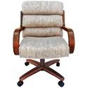 Chromcraft Custom Dining Dining Chair - Item Number: CM137W+C936AW