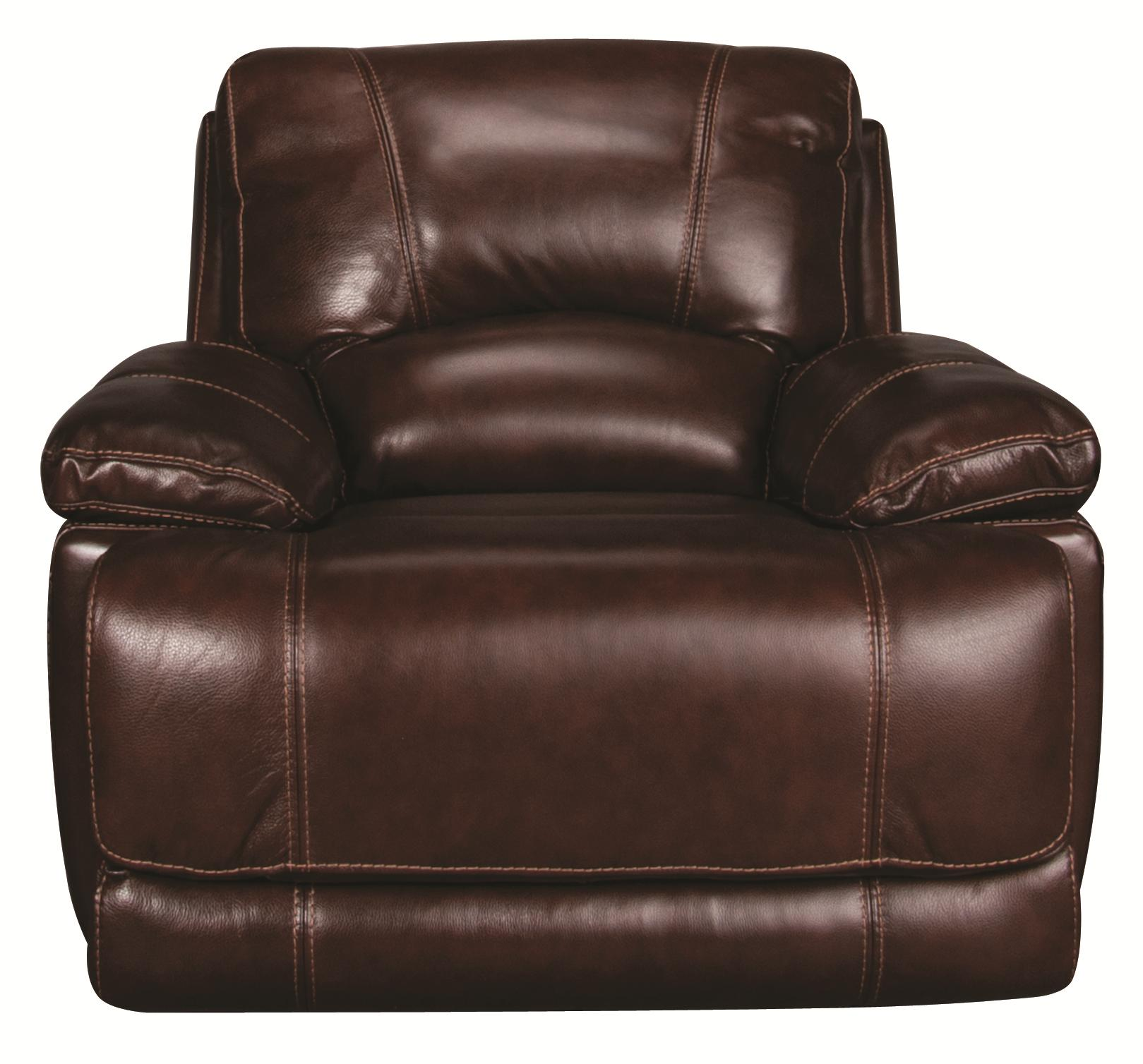 Cindy Crawford Home Sawyer Sawyer Power Leather-Match* Recliner - Item Number: 149833598