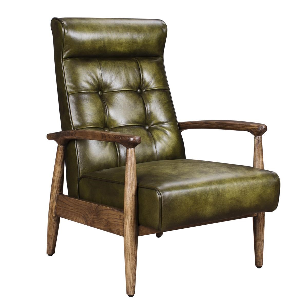 Classic Home Murphy Green Club Chair - Item Number: 53004856