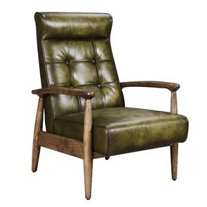 Classic Home Murphy Green Club Chair