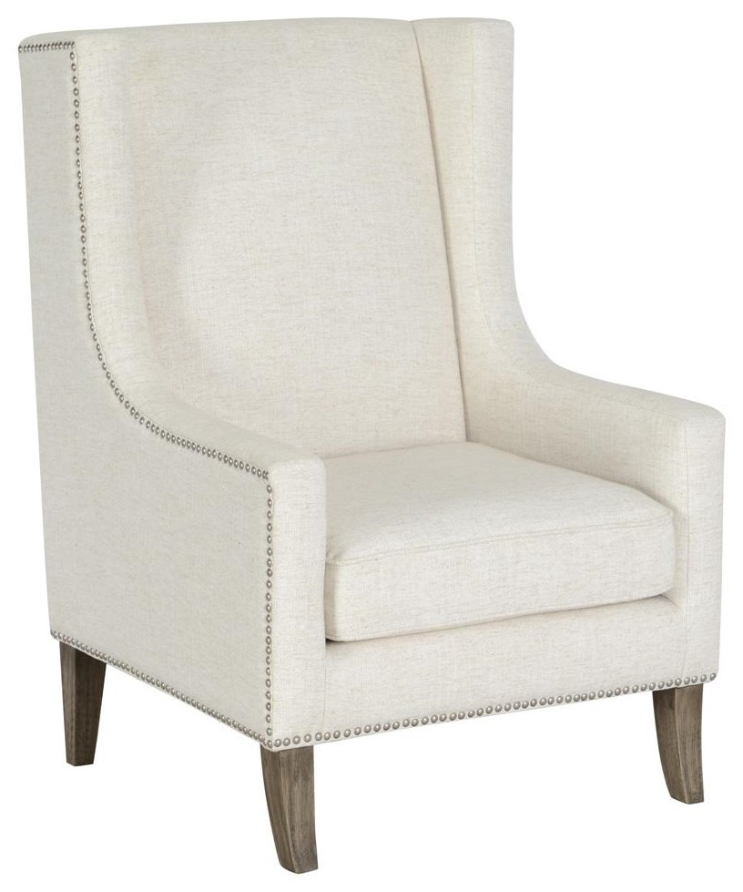 Classic Home/Villa Home Collection Erie Erie Ivory Club Chair - Item Number: 53051053
