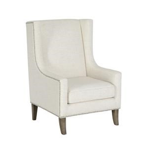 Classic Home/Villa Home Collection Erie Erie Ivory Club Chair