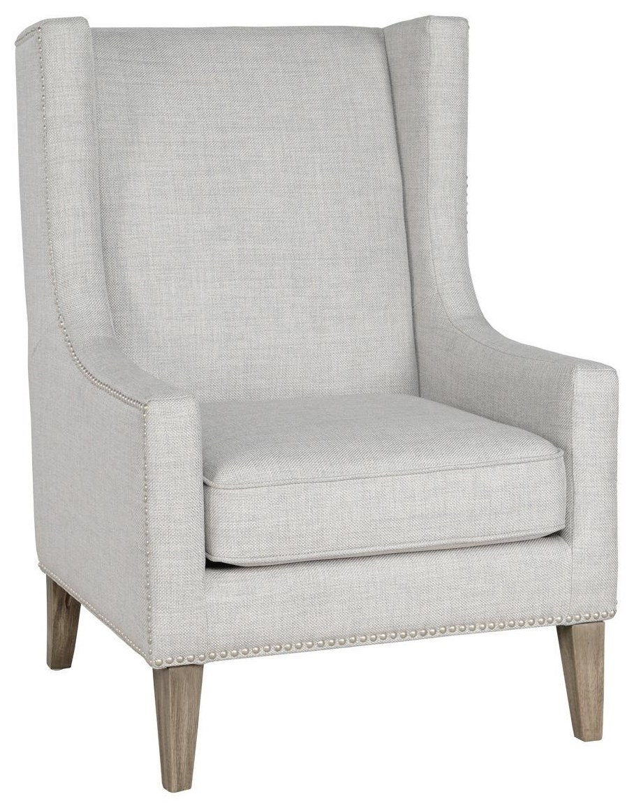 Classic Home/Villa Home Collection Erie Erie Gray Club Chair - Item Number: 53051054
