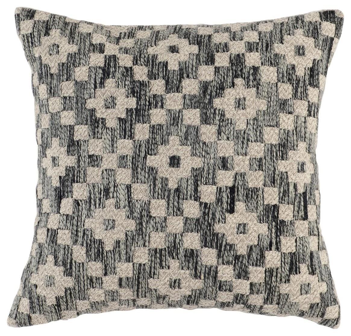 Perot Onyx Throw Pillow