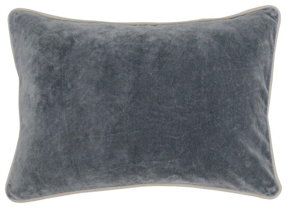 Rectangular Velvet Accent Pillow