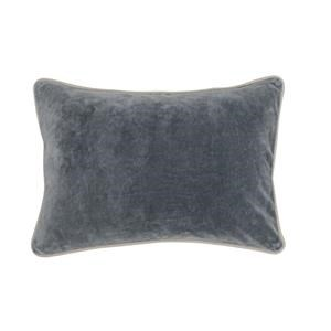 Rectangular Velvet Accent Pillow