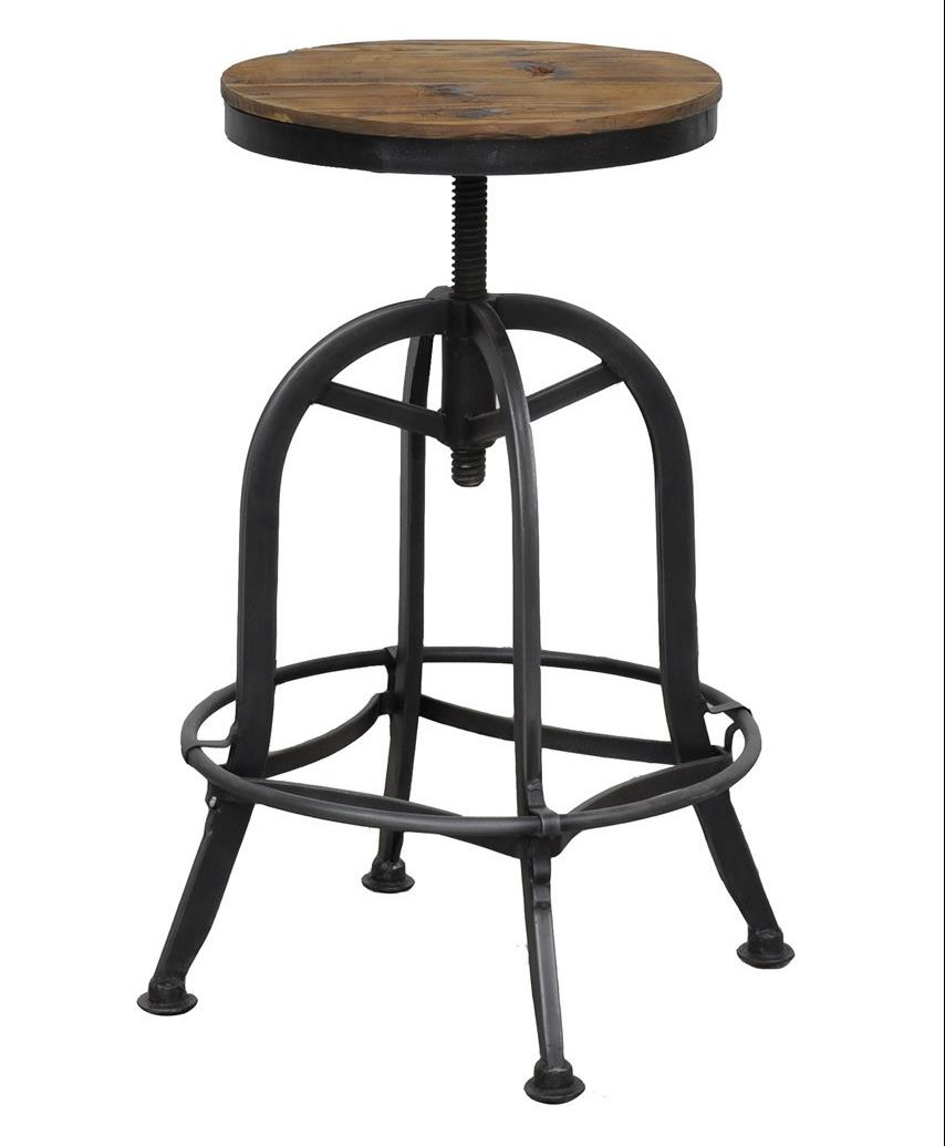 Akron Bar Stool by Classic Home at Alison Craig Home Furnishings