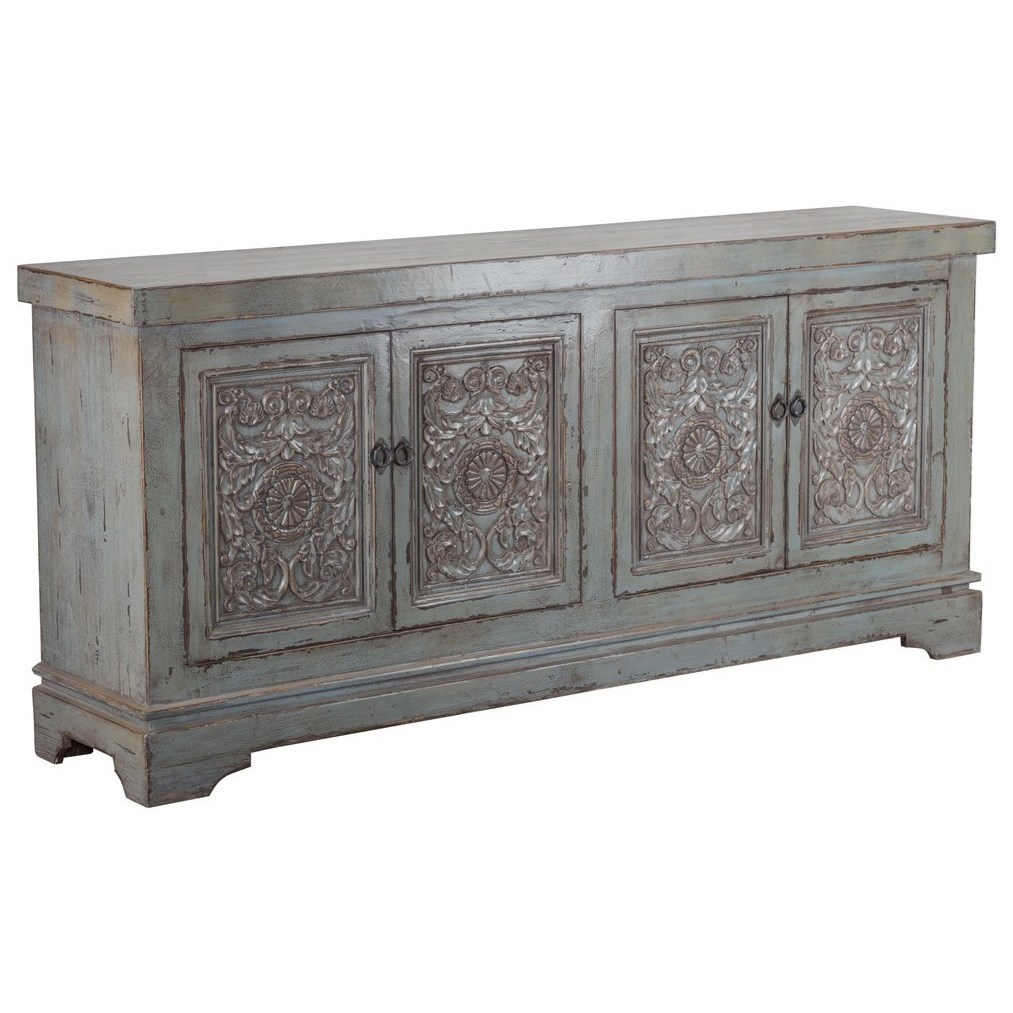 Amita 4 Door Sideboard by Classic Home at Baer's Furniture