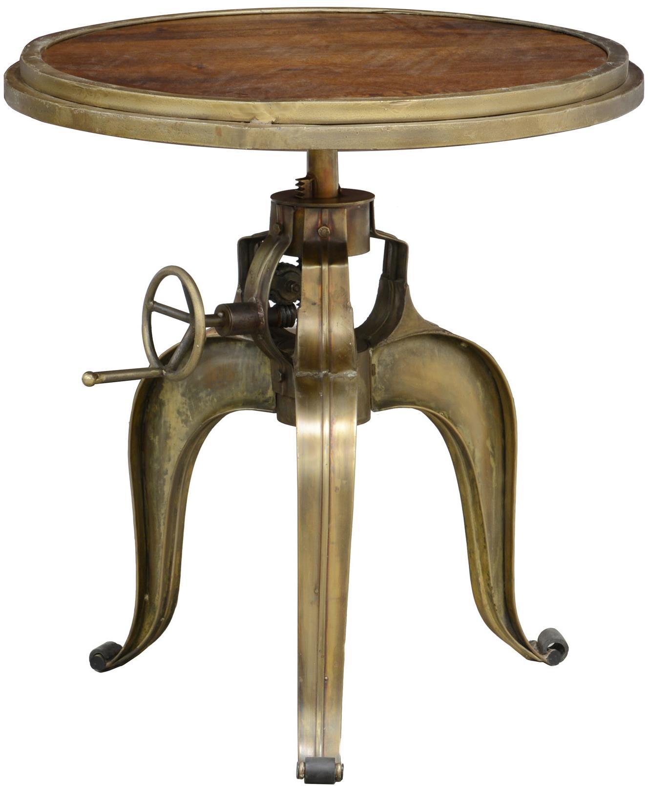 Classic Home Carvelle Medium Brown Crank Pub Table - Item Number: 51010400
