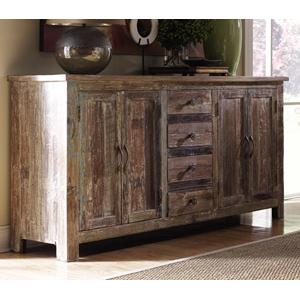 Hampton  4 Door and 4 Drawer Buffet by Classic Home
