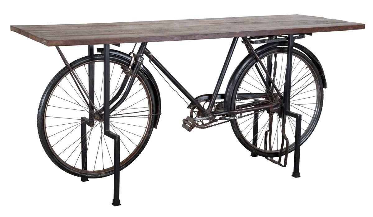 Jaden  Bicycle Gathering Table by Classic Home at Stoney Creek Furniture