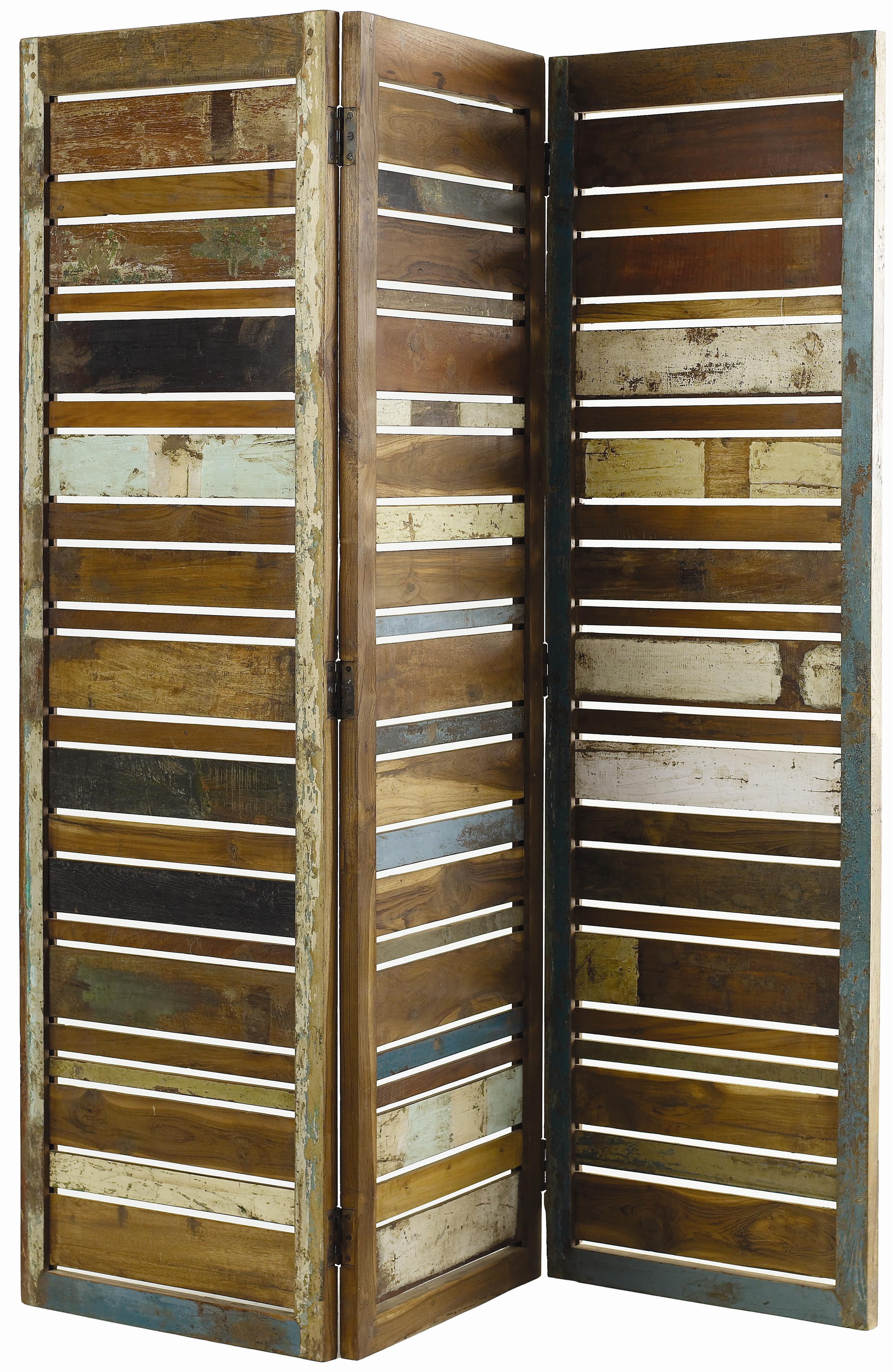 Classic Home Vintage 59916230 Reclaimed Wood Multi Color 3