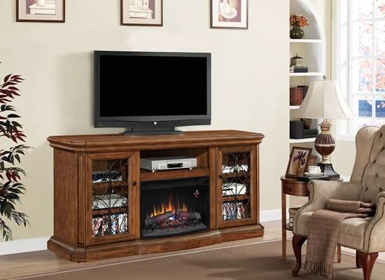 ClassicFlame 25MM Beauregard Fireplace TV Stand - Item Number: P25504