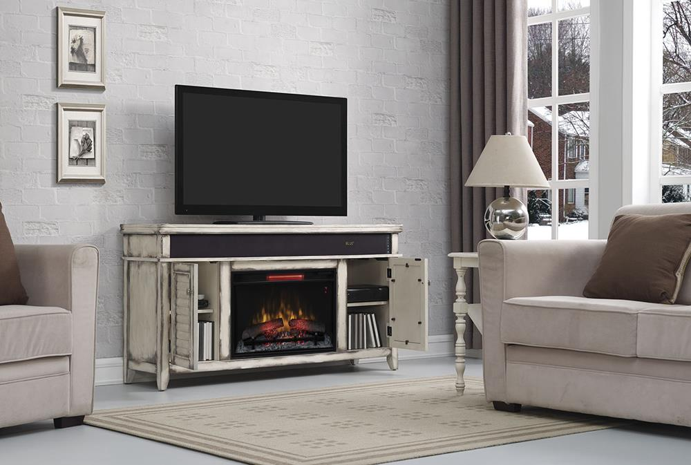 ClassicFlame 26MM Simmons Fireplace TV Stand - Item Number: P26852