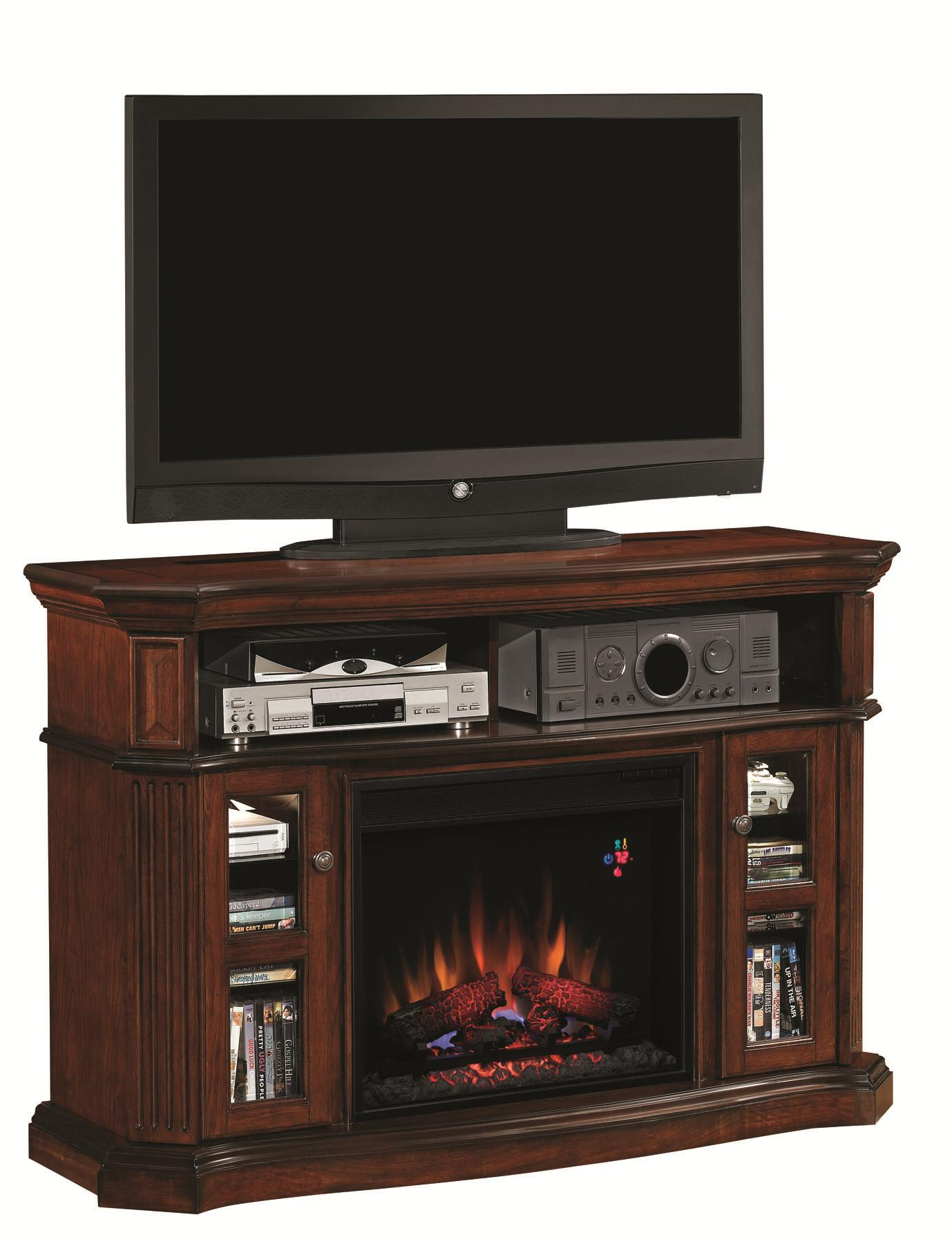 "Morris Home Furnishings Claxton Claxton 2pc Fireplace w/23"" Insert - Item Number: 23MM1297-C259/23EF031GRP"