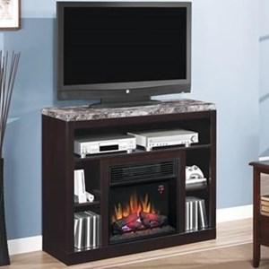 Media Mantel Fireplace