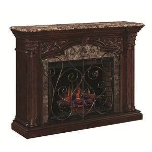 "Morris Home Furnishings Astoria 33"" Wall Mantel"