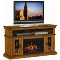 Morris Home Furnishings Brookfield Brookfield Remote Operated Electric Fireplace with Media Storage