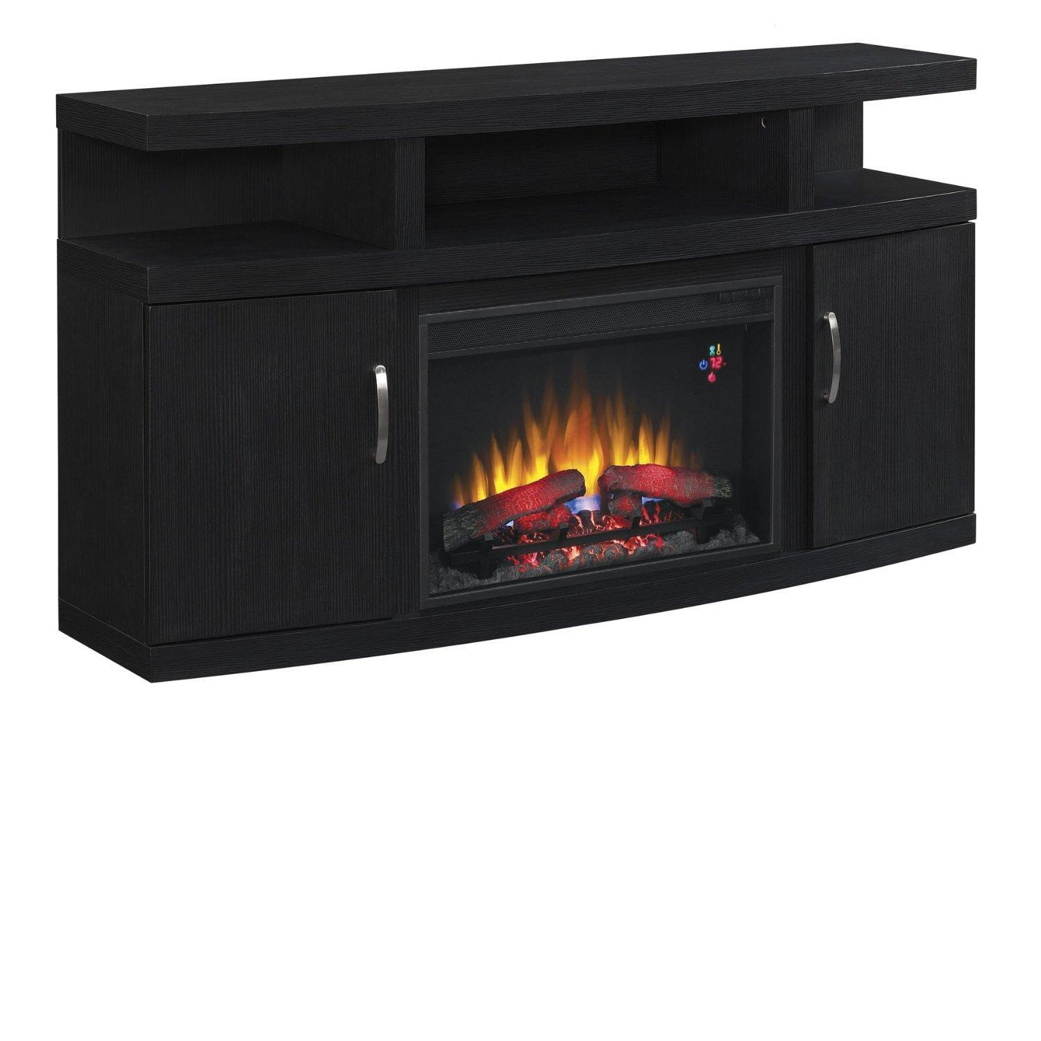 "Morris Home Furnishings Canter Canter 60"" Console with Fireplace - Item Number: 256110520"